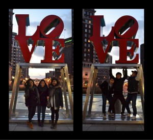 Friends in Philly during Spring Break 2012!