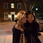Hugging it out at UPenn!