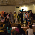 Halloween acapella concert feat. Drexel group!