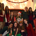 Radnor freshmen at the annual Radnor Christmas Party!