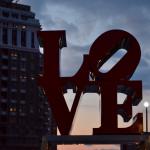 the LOVE statue!