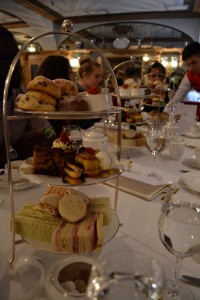 high tea at the Chesterfield Mayfair hotel!