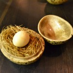 quail egg - the burst of flavor is unforgettable