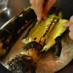 this was one of my favorites - grilled leek