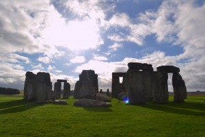 Stonehenge! Thank God for such great weather!