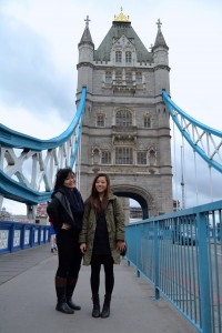 The Tower Bridge with Reina '15